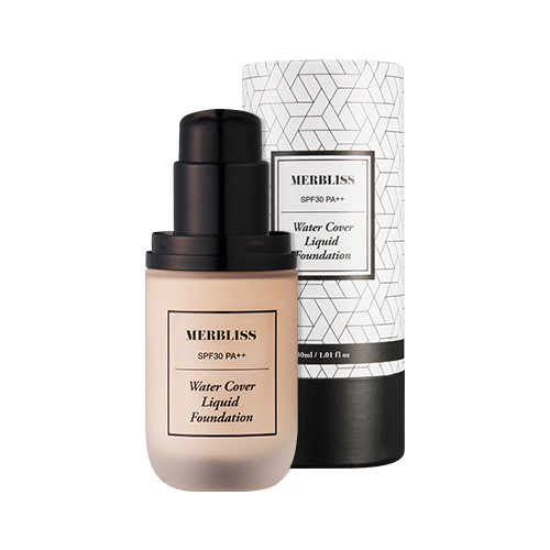 MERBLISS Water Cover Liquid Foundation SPF30 PA++ 30ml