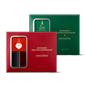 Innisfree Holiday Real Vivid Color Nail Set