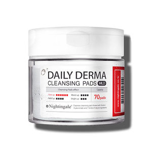 Nightingale Daily Derma Cleansing Pads Mild 70ea