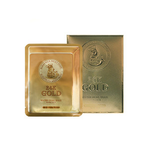 Elizavecca 24k gold water dew snail mask pack (25ml x 10ea)