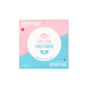 LANEIGE Two Tone Sheet Mask Brightening & Hydrating 28ml 1ea