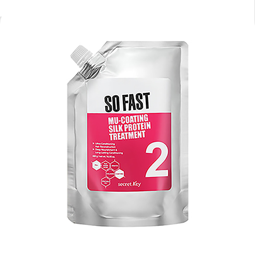 secretKey So Fast Mu Coating Silk Protein Treatment 480g