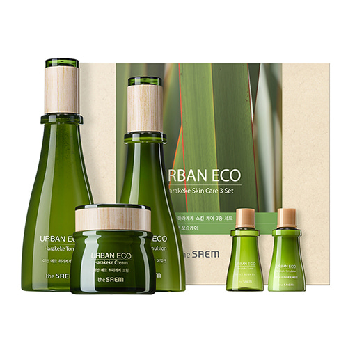 the SAEM Urban Eco Harakeke Skin Care Set